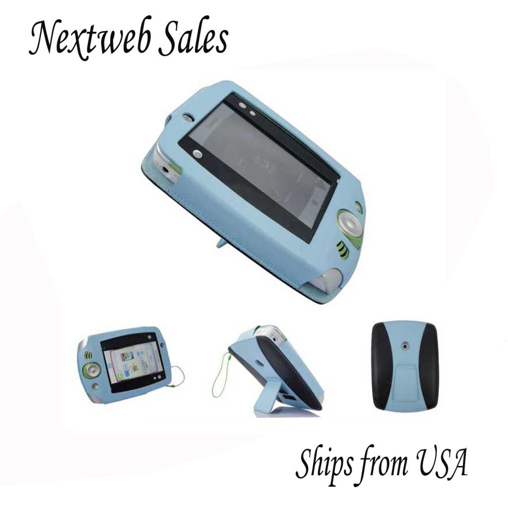 Leather Case Cover Stand for LeapFrog LeapPad 2 Explorer Blue