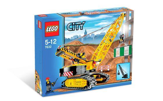 Lego City Crawler Crane Set 7632 New in Factory SEALED Box