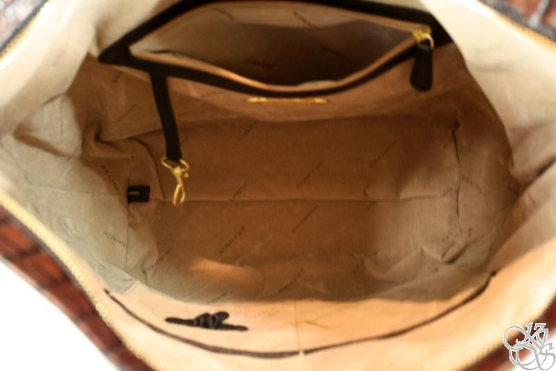 Brahmin Lydia Black Tuscan Large Hobo Bag Purse New