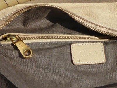 1795 Chloe Marcie Large Leather Hobo Bag Shoulder Satchel Tote