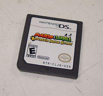 Mario Luigi Bowsers Inside Story Nintendo DS 2009 Rated E Cartridge
