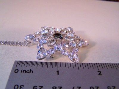 Authentic Swarovski Crystal Rhinestone Hysteria Costume Jewelry Brooch