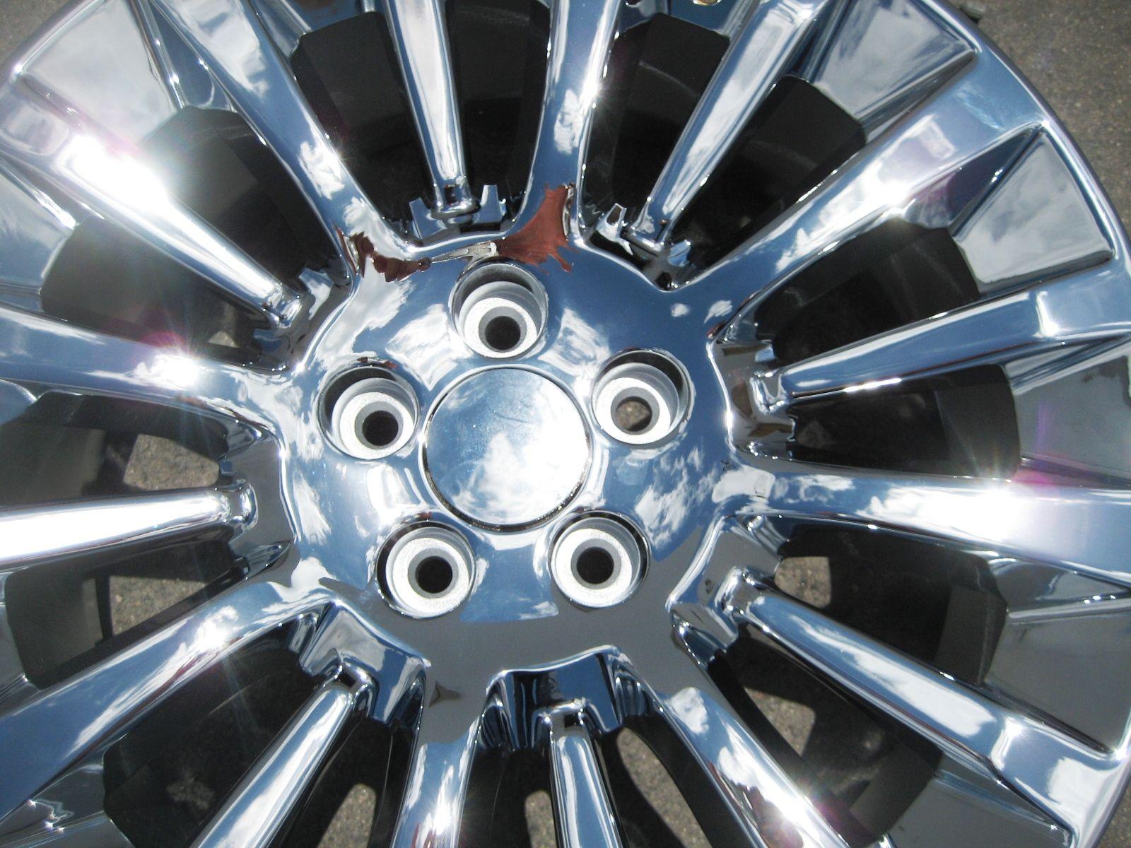 Factory Lincoln MKT Chrome Alloy Wheels Rims 2010 2012 Set of 4