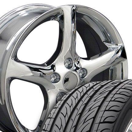 17 05 Chrome Altima Wheels Tires Rims Fit Nissan Maxima 300zx 350Z