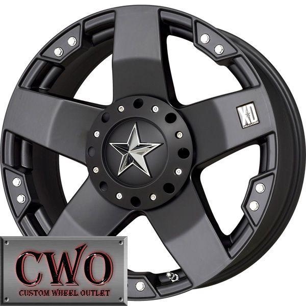 18 Black XD Series Rockstar Wheels Rims 8x170 8 Lug Ford F 250 F 350