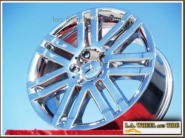 Mercedes Benz C300 17 Chrome Wheels Rims Set of 4