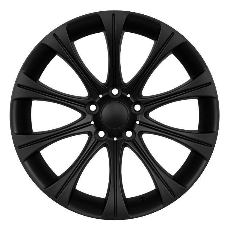 19 M5 Style Matt Black Wheels BMW 528i 535i 54I5 550i 645i 650i 745i