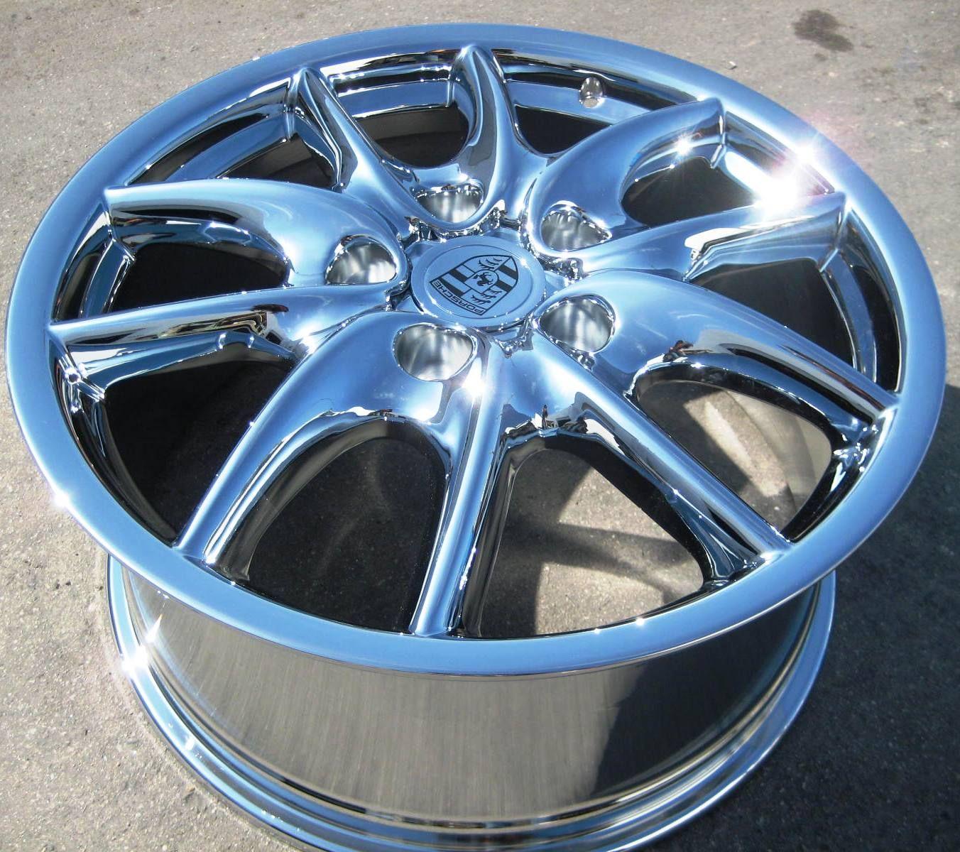 Porsche Cayenne s Turbo Tourag Chrome Wheels Rims Set of 4