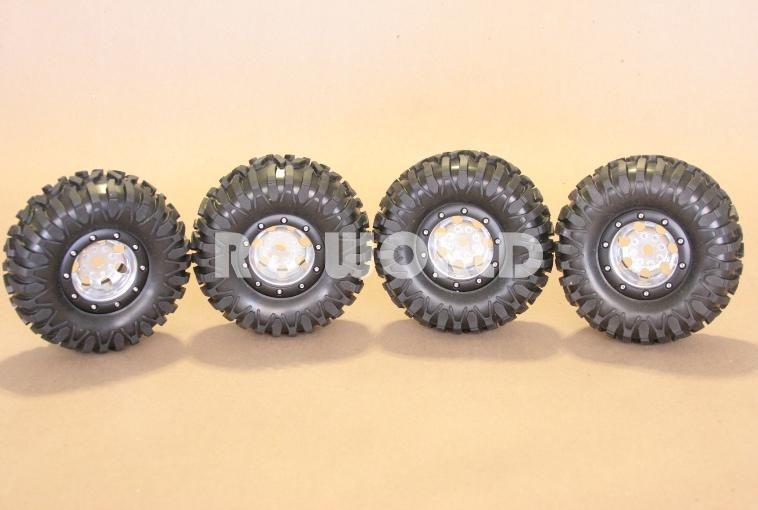 RC Truck Rock Crawler Aluminum Wheels 2 2 Beadlock