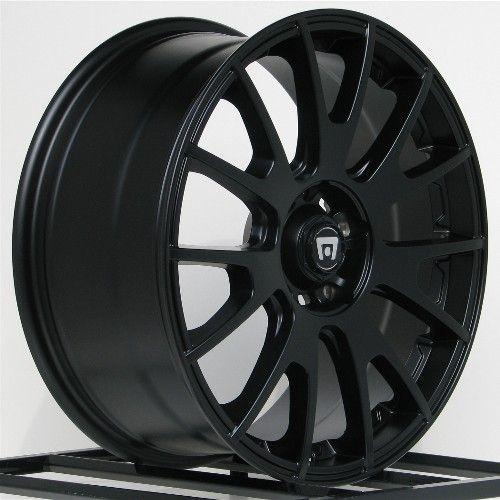Wheels Rims Black Honda Accord Civic Ford Edge Escape Flex Fusion 5