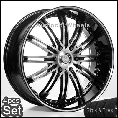 24 inch Wheels and Tires Chevy Ford Escalade H3 Rims