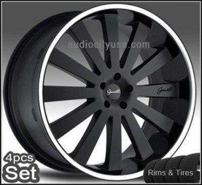 26inch Giovanna Wheels and Tires Tahoe Escalade Chevy Rims Silverado
