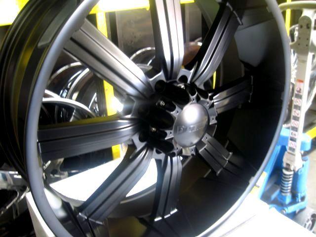 26 Matt Black Wheels Tires Tahoe Denali Escalade Yukon