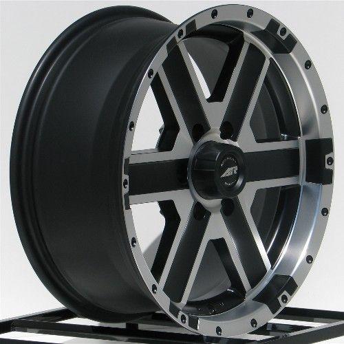 18 inch Black Wheels Rims Chevy Truck Tahoe Avalanche Express Van 1500