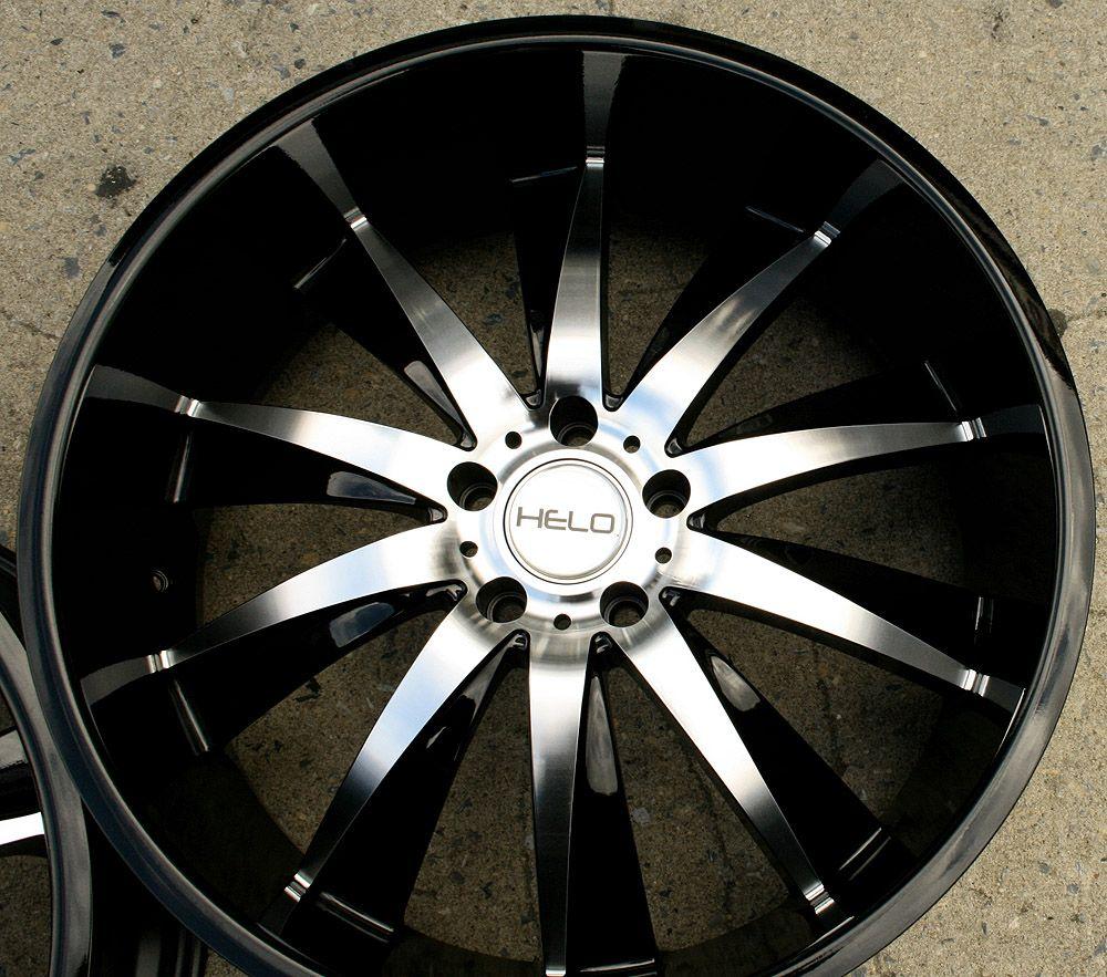 22 Black Rims Wheels Nissan 350Z Staggered 22 x 8 5 10 5H 40