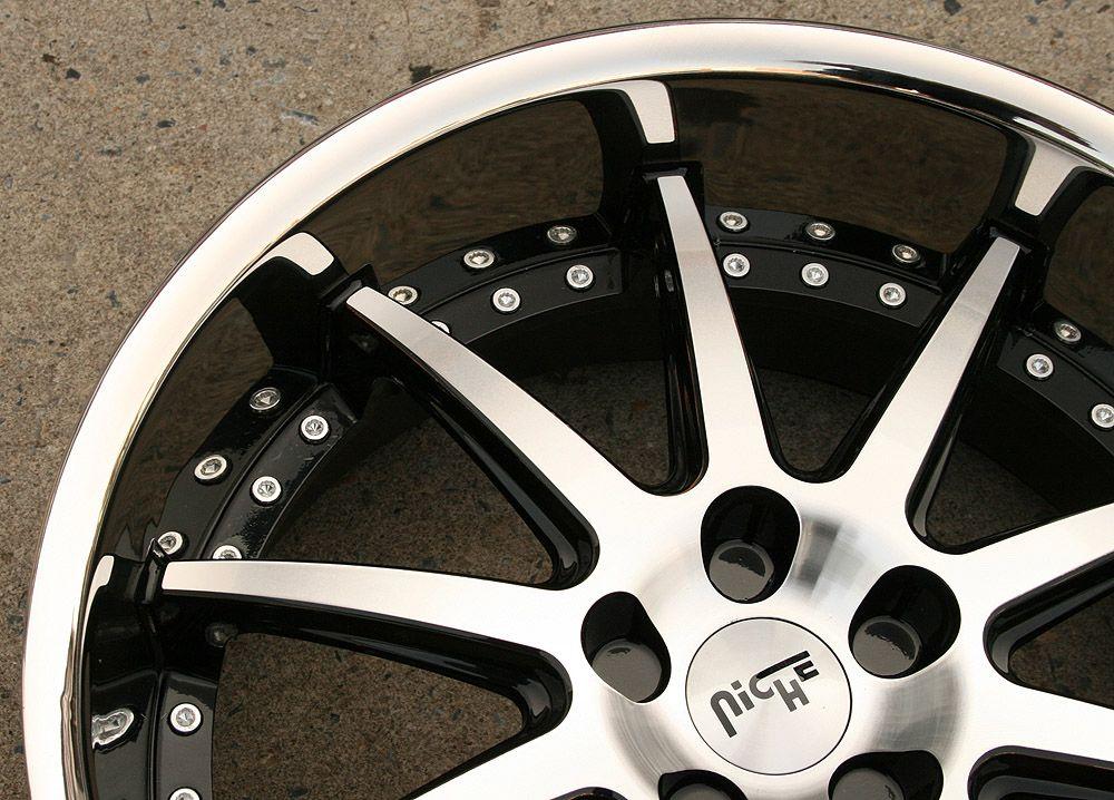 22 Black Rims Wheels BMW 745 760 7 Series 22 x 9 0 10 5 5H 15