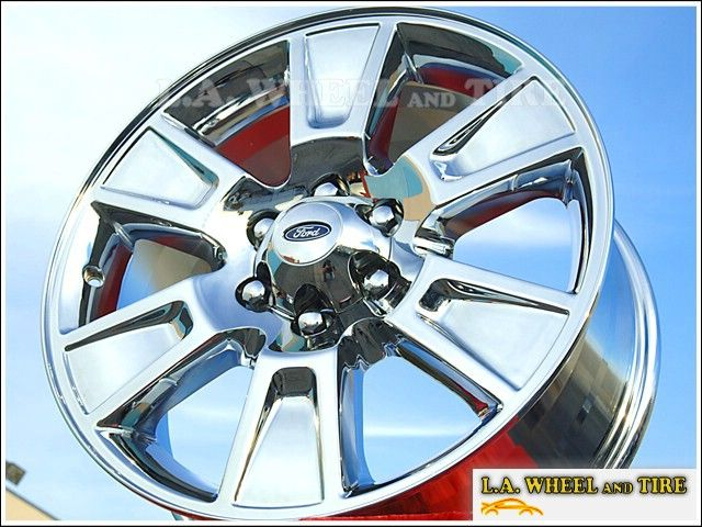 Set of 4 New 20 Ford F 150 Chrome Factory Wheels Rims Expedition Mark