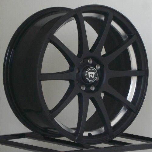 17 inch Wheels Rims Black Honda Civic Accord Toyota Nissan Altima 5