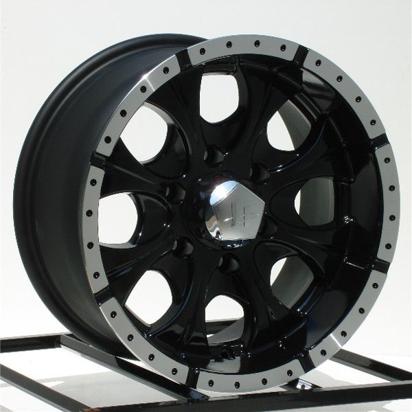 16 inch Black Wheels Rims Chevy GMC 6 Lug 1500 Truck GM
