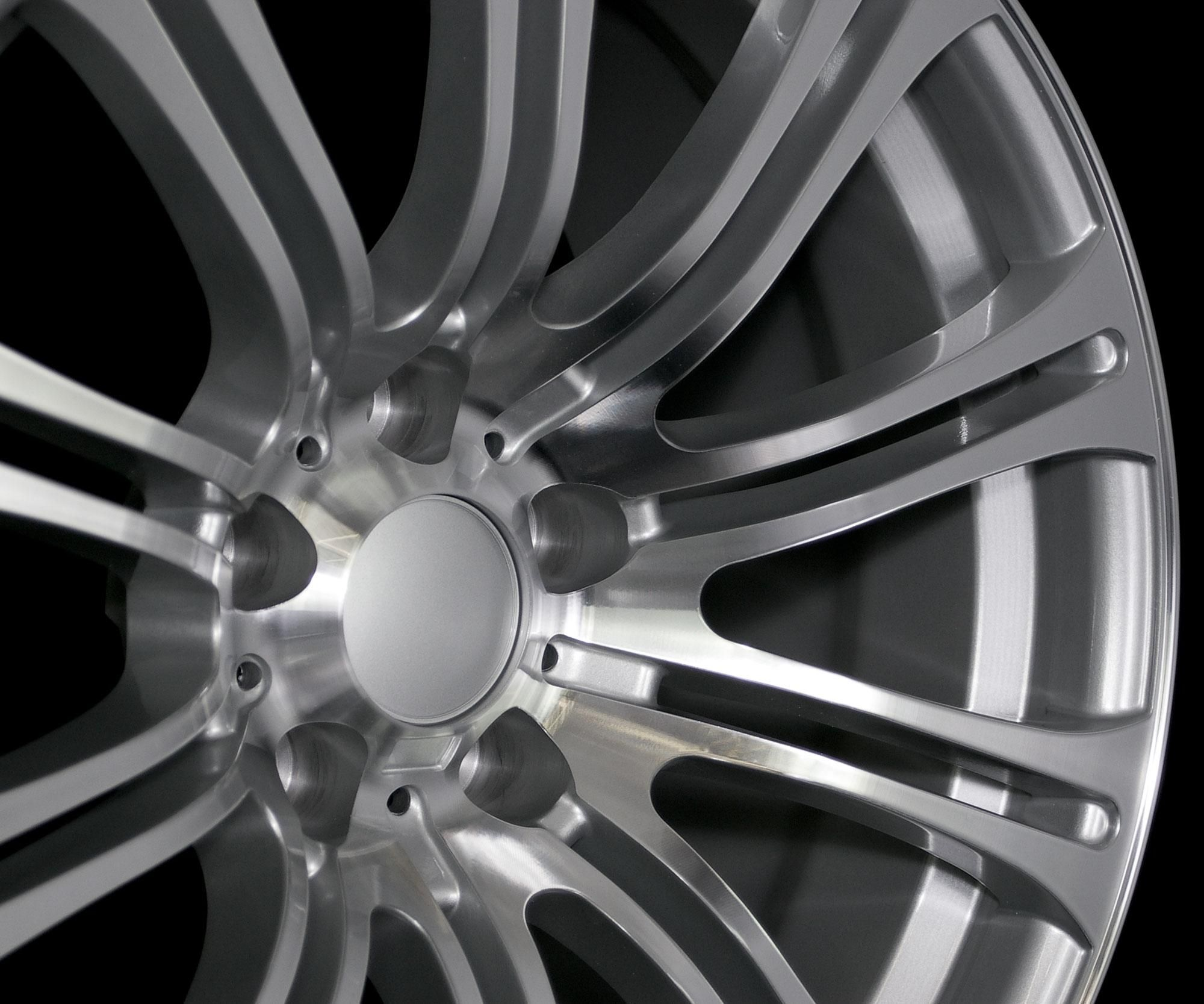 19 M3 Style Silver Machined Face Wheels Rims Fit BMW M3 2000