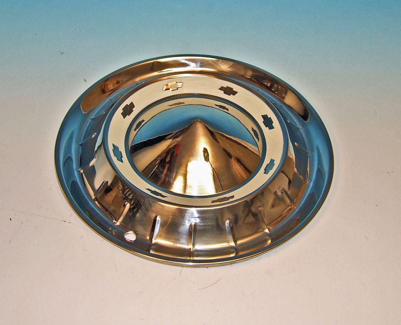 55 Chevy Belair Full Wheel Cover New Bel Air Hub Cap