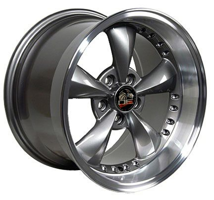17 9 10 5 Anthracite Bullitt Wheels Bullet Rims Fit Mustang® GT 94