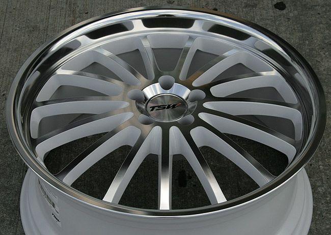 TSW Zolder 20 White Rims Wheels Acura MDX RDX