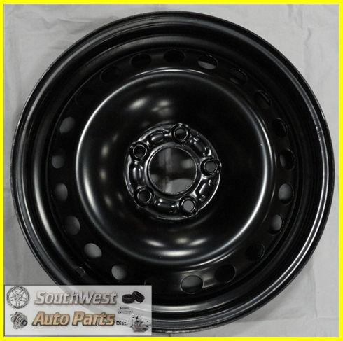 97 98 99 00 01 Cadillac Catera 16 OE Replacement Winter Black Steel