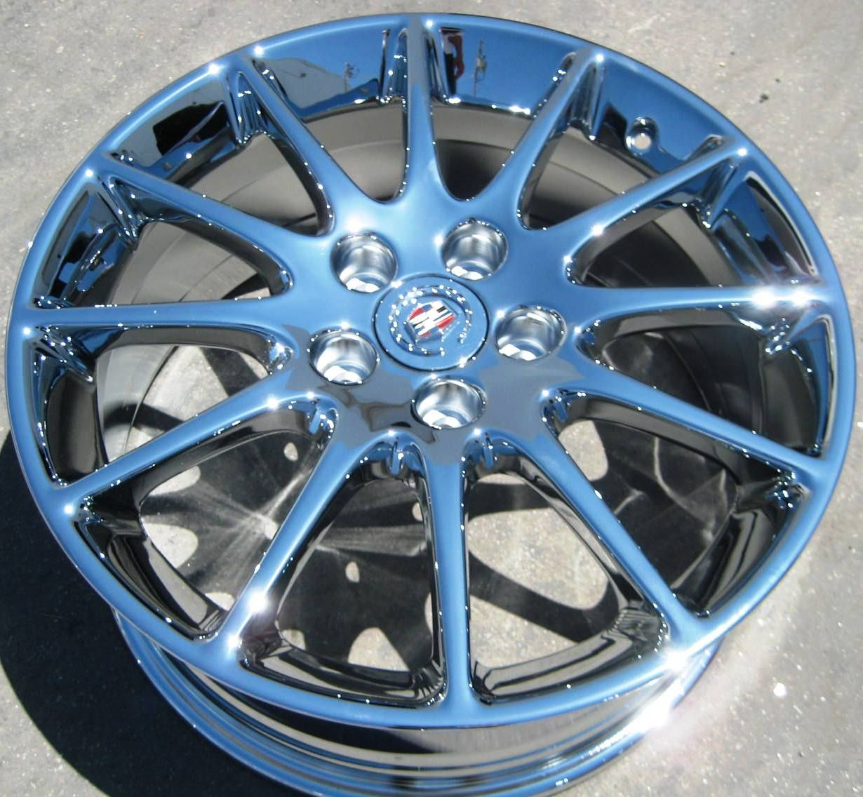 Stock 4 Factory 18 GM Cadillac STS cts DTS Chrome Wheels Rims