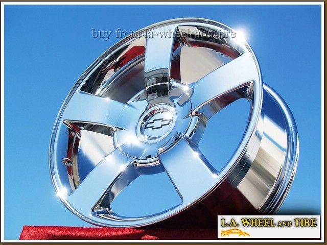 20 Chevrolet Silverado SS Sierra Yukon Chrome Wheels Rims 5200