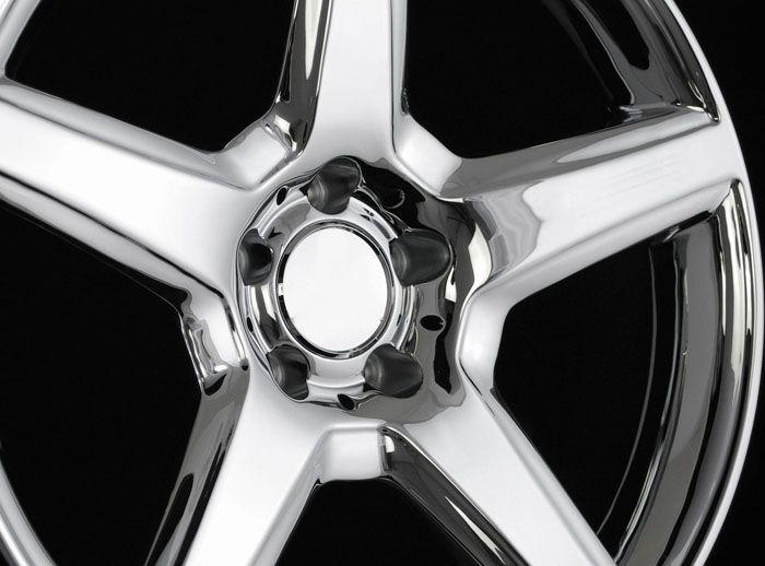 19 Chrome Wheels Rims Fit Mercedes W203 W208 W209 C219 C218 W210 W211