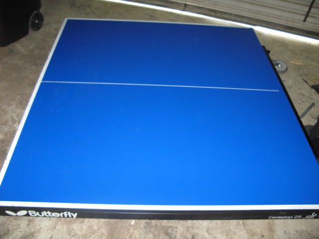 Butterfly Centrefold 25 Table Tennis Ping Pong Ittf 9ft