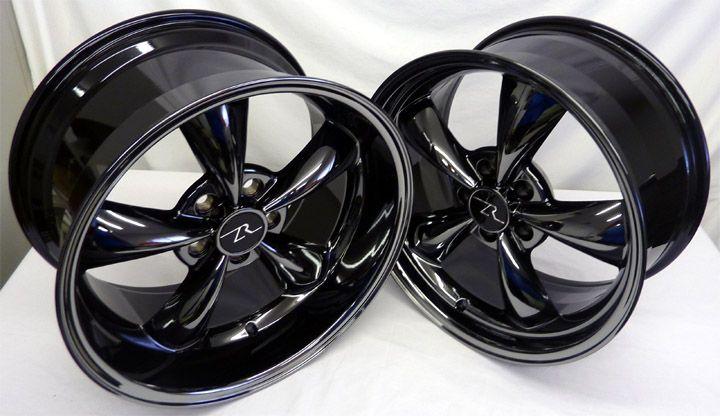 Mustang ® Bullitt Wheels 18x9 &10 Deep Dish 18 inch Bullet Rims 18