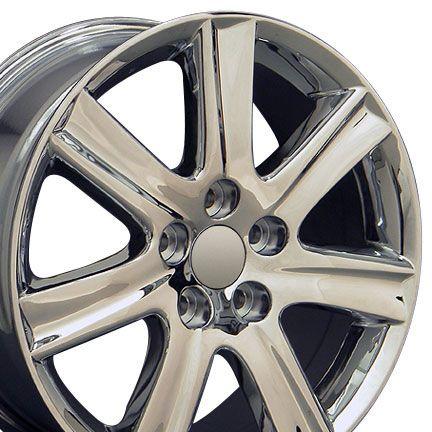 17 Chrome ES350 Wheels Set of 4 Rims Fit Lexus LS Is GS RS