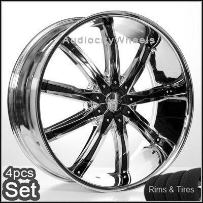 Tires Escalade Chevy Ford QX56 H3 Silverado Yukon Tahoe Rims
