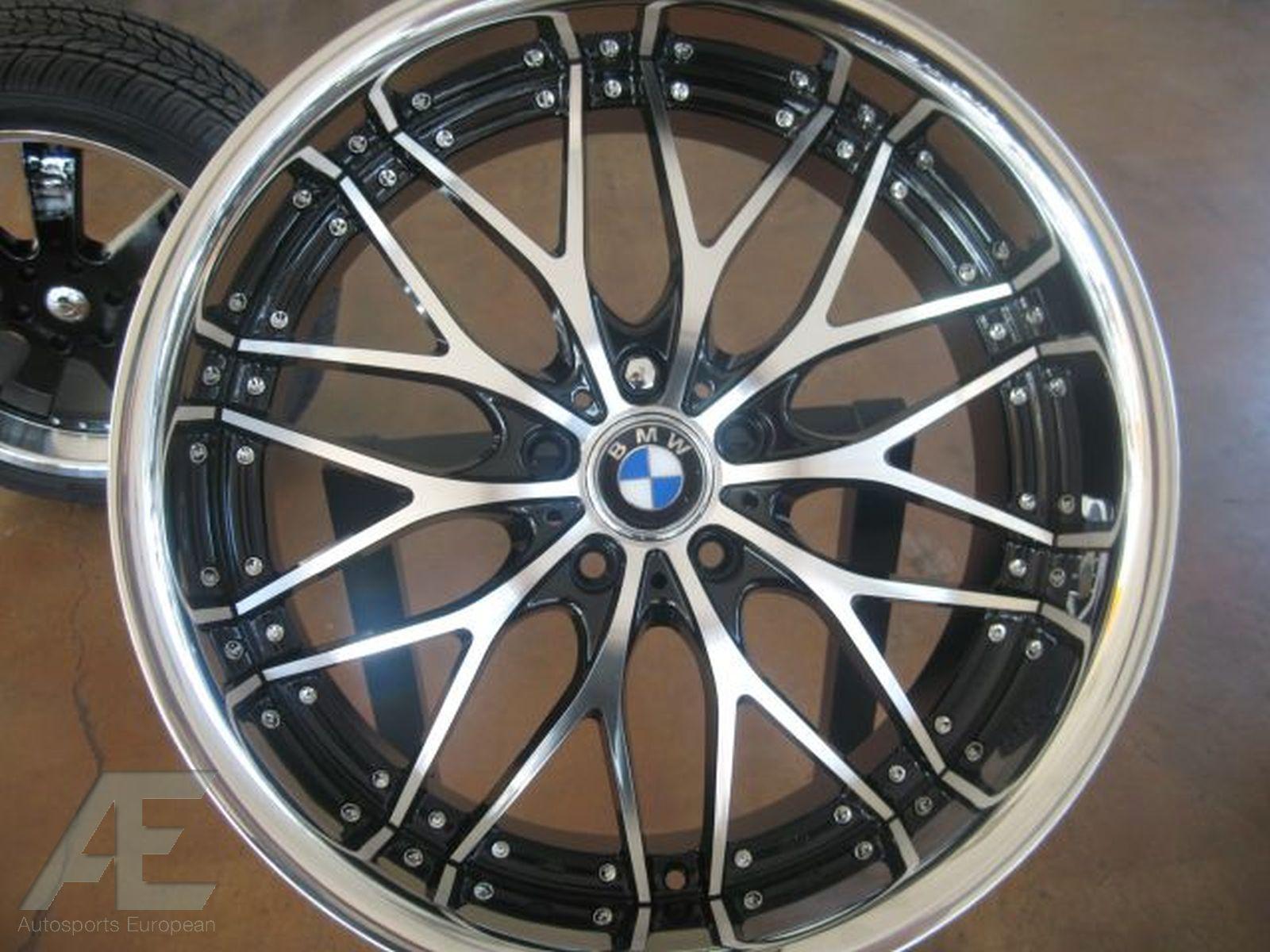 20 BMW Wheels Rims Tires 525i 530i 540i 650i 645i M5 M6