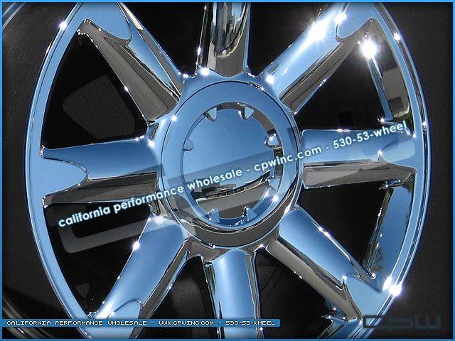 New Chrome Wheels Rims 20 inch Fits GMC Yukon Denali Sierra Tahoe