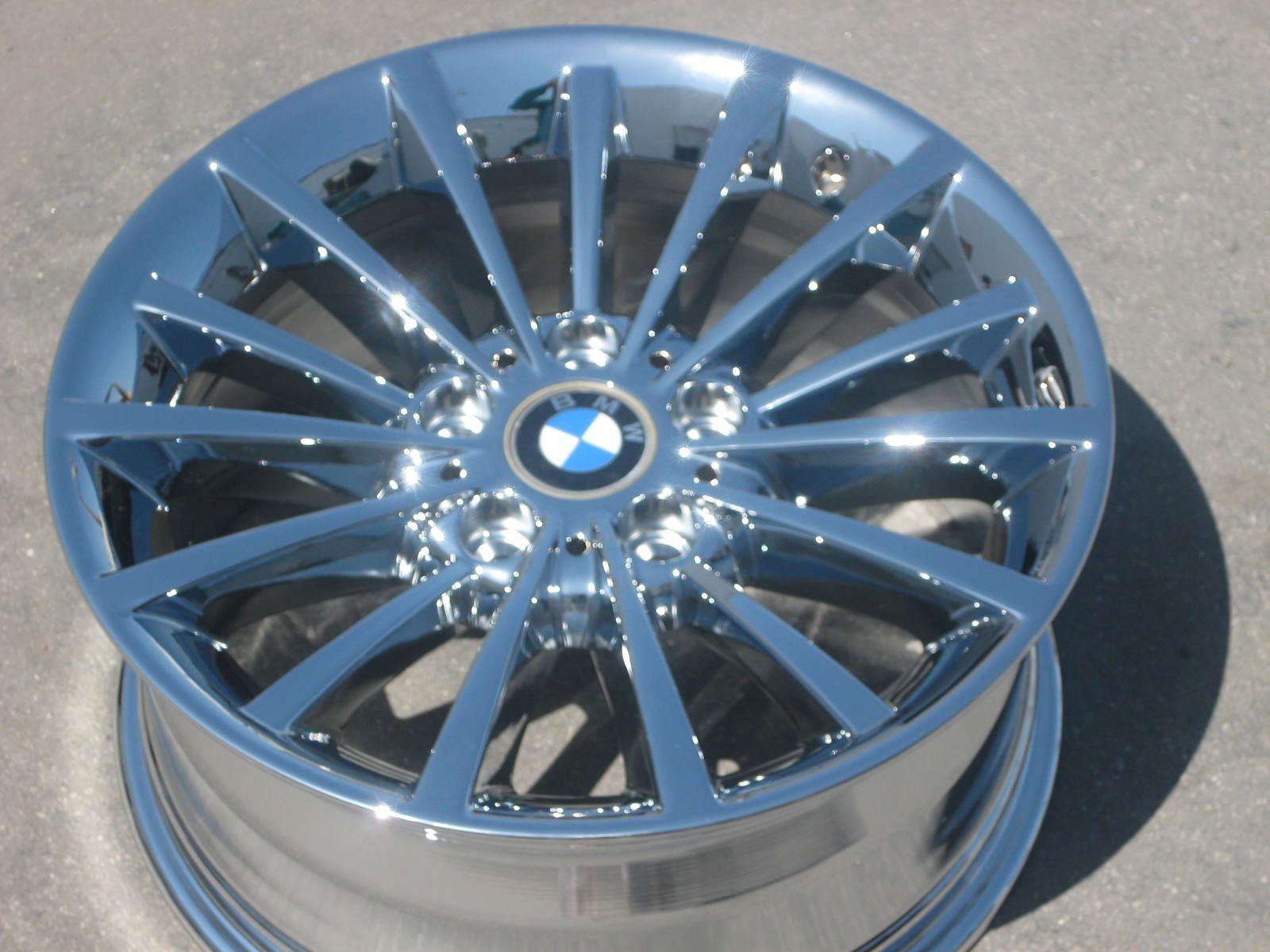 STOCK = 17 FACTORY BMW 323i 328i 335i 528xi 535xi CHROME WHEELS RIMS