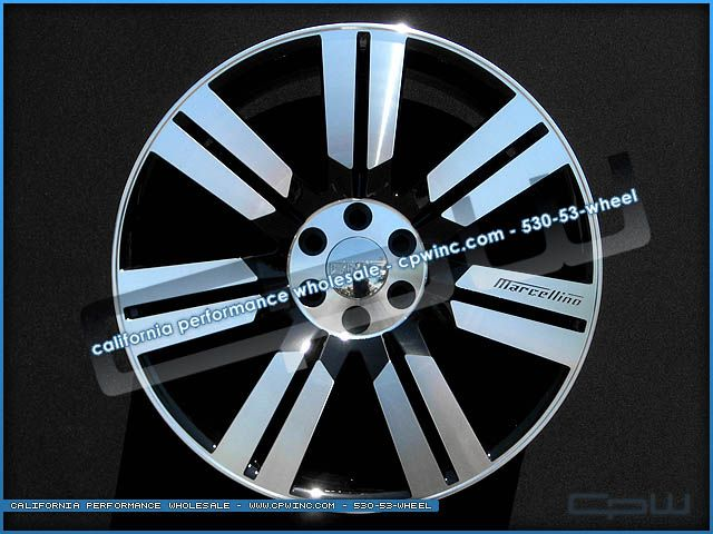 24 Marcellino Concept 24 Wheels and Tires Rims GMC Yukon XL Gloss