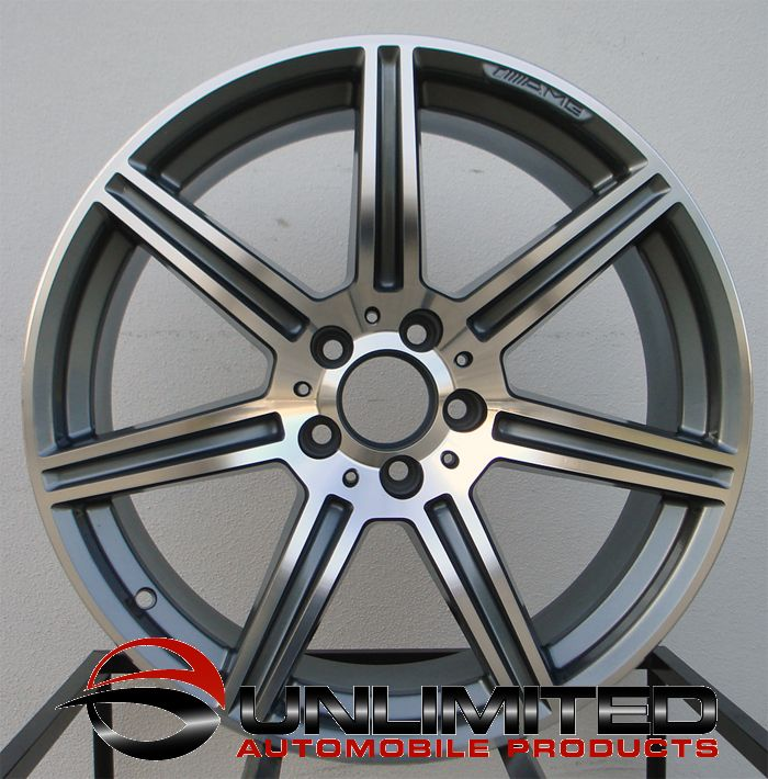 19 AMG E63 Style Wheels Rims Fit Mercedes E350 E550 2010 2012