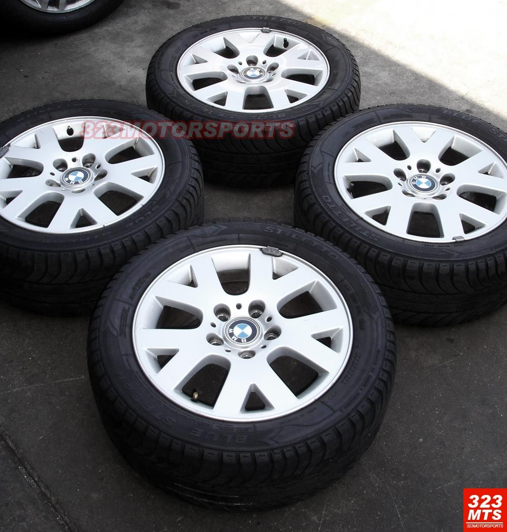 16 inch Used BMW 323 325 328 330 Wheels Rims Tires