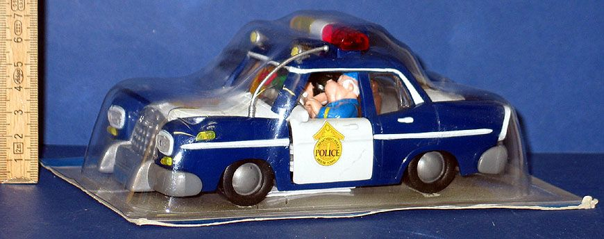 Micky Maus + Hunter im Polizei Auto Topolino in OVP Walt Disney