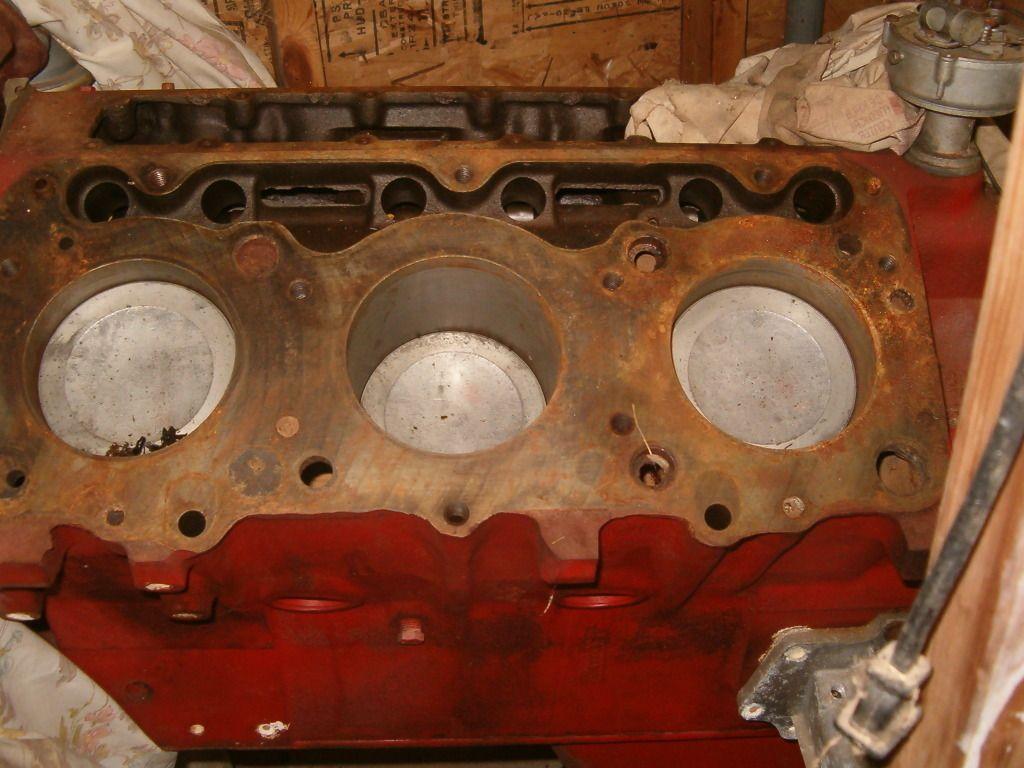 1966 Gmc 305 Cubic Inch V6 Engine