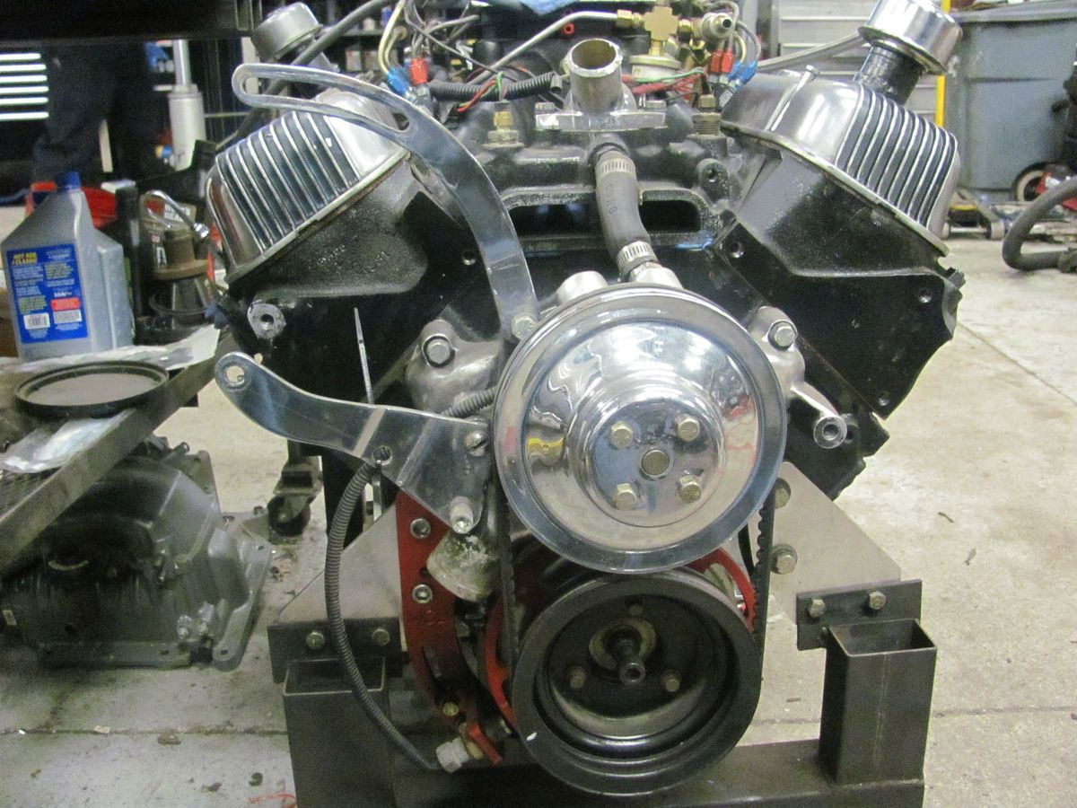 Big Block Chevy Engine 454 CU to 468 CU in Nitous or supercharger
